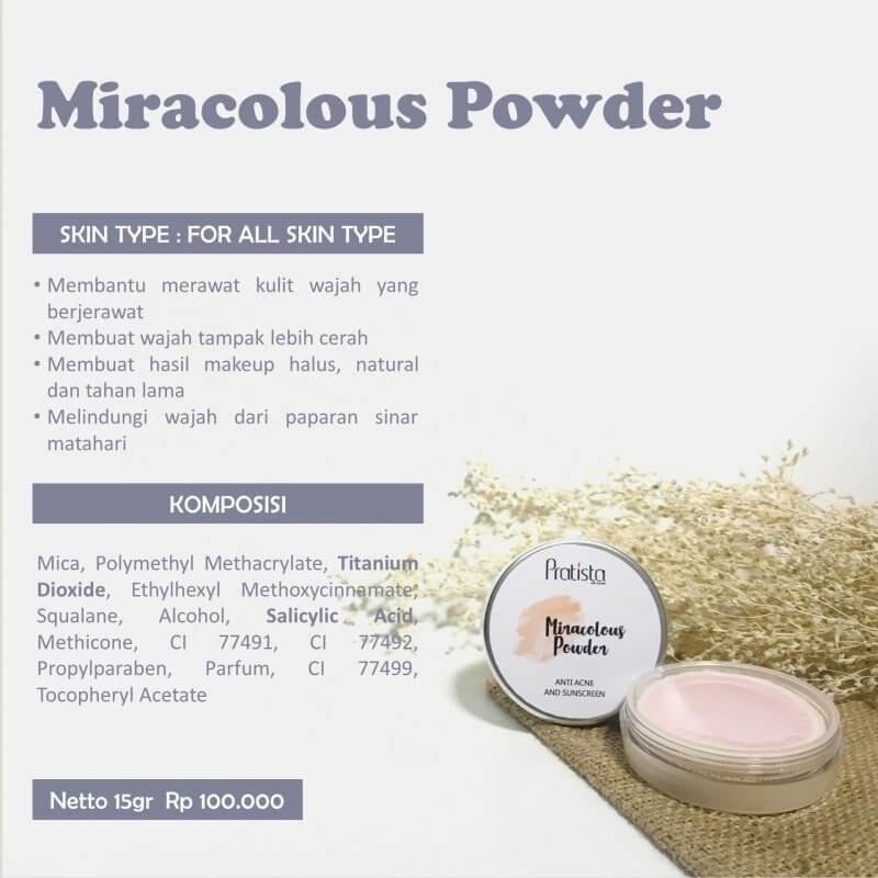 Miracolous Powder Pratista